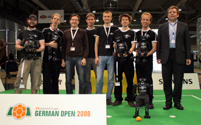 RoboCup German Open 2008: Team NimbRo