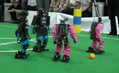 RoboCup German Open 2009 Final: NimbRo 8 - 2 Darmstadt Dribblers