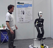 RoboCup German Open 2009 Final: Robotinho gives a home tour